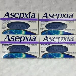 Asepxia® Moisturizing Cleansing Bar Four Pack